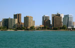 Windsor Ontario skyline by Adolch